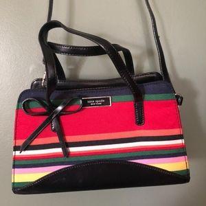 Vintage Kate Spade Striped Bag